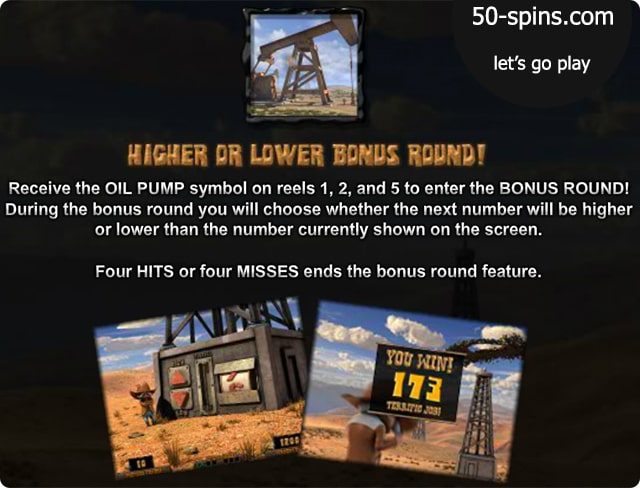 Black Gold Slots bonus round.