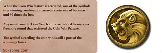 Coin Lion.