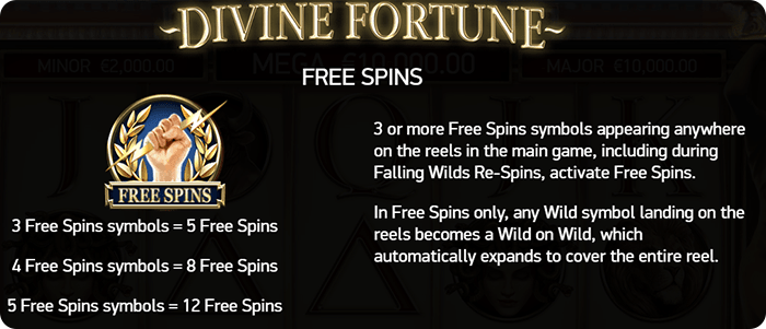 Free spins.