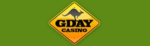 Gday casino logo.
