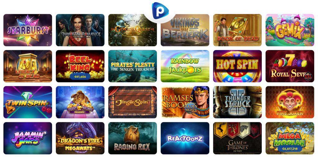 Pelaa casinos slot machines.