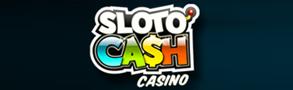Slotocash casino logo.