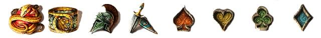 Lost relics slot and its symbols.