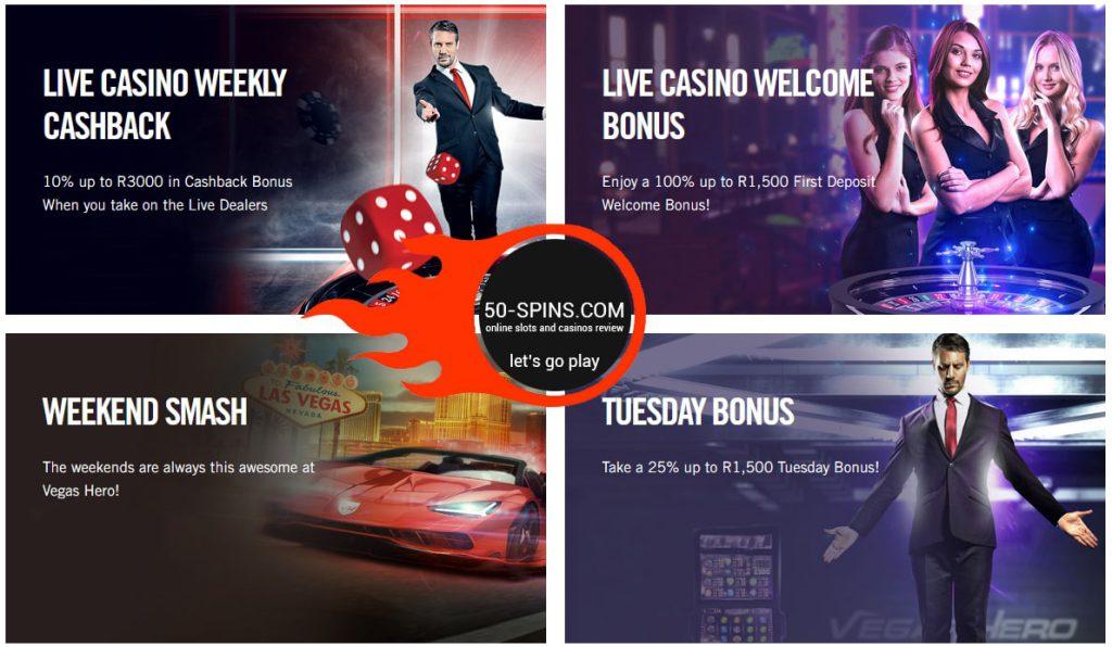 casino vegas bonuses