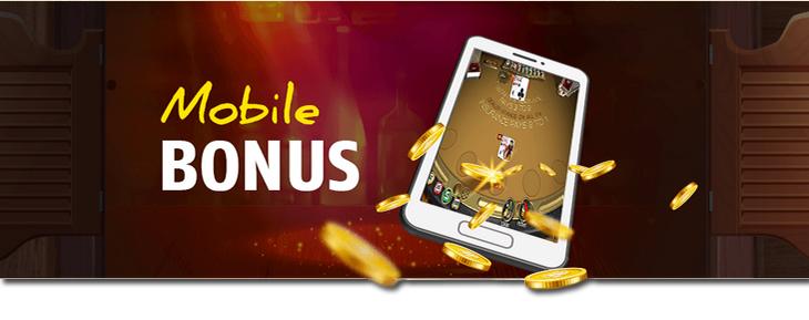 RedStag casino mobile bonus.