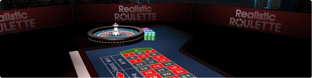 Realistic Roulette game online.