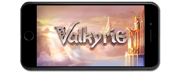 Valkyrie slot game mobile.
