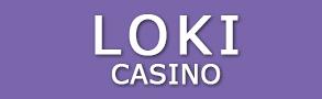 Loki Casino logo.