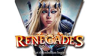 Renegades Online Slot Logo