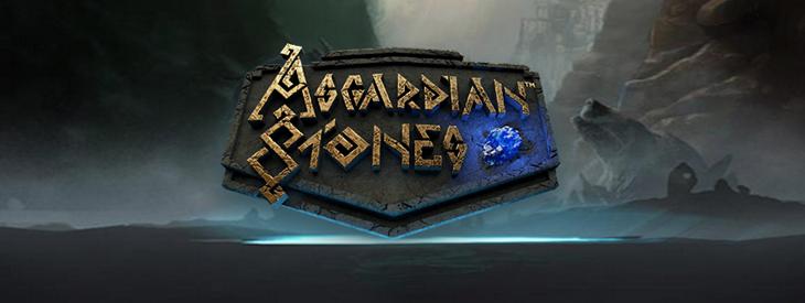 Logo Asgardian Stones free slot.