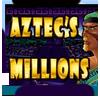 Aztecs Millions slot machines logo.