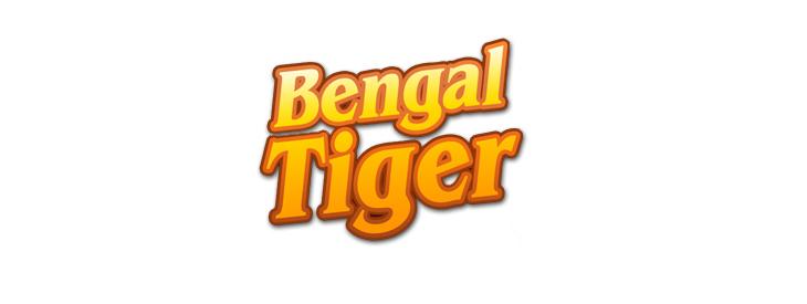 Logo Bengal Tiger slot machine.