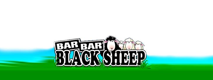 Logo Black Bar Black Sheep slot game.