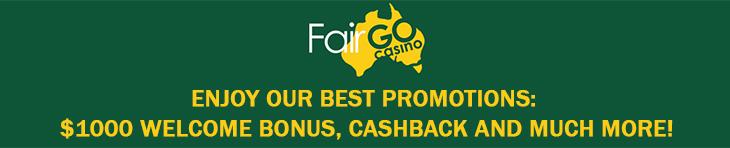 Bonuses Fair Go Casino.