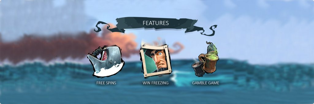 Moby Dick Game Features.