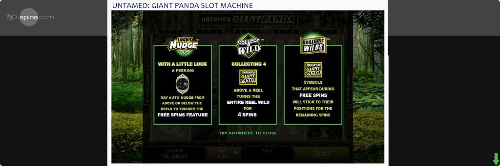 Panda slot machines bonus games.