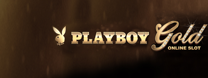 Logo Playboy Gold slot machine.