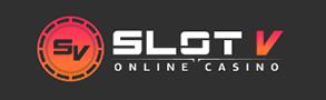 SlotV casino logo.