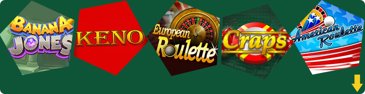Specialty Games in the casino.