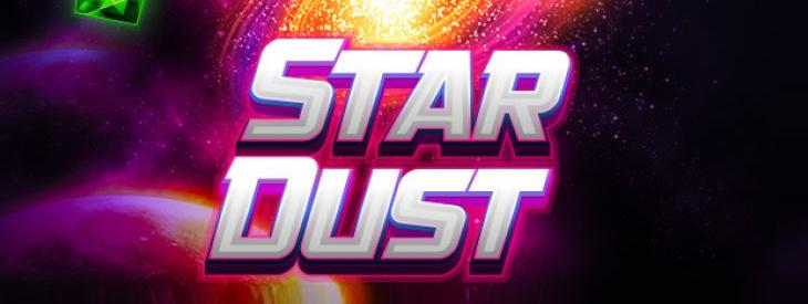 Logo Stardust Slot game.