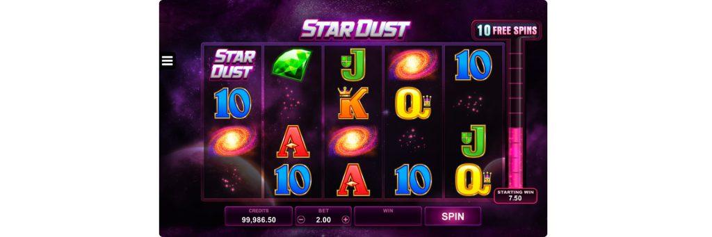 Stardurst slot machine.