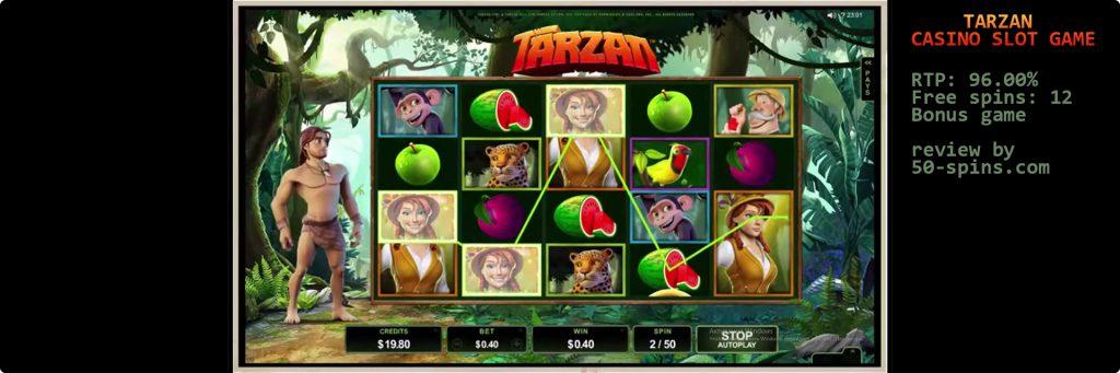 Tarzan Slot Machine.