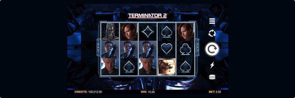 Terminator 2 slot machine.