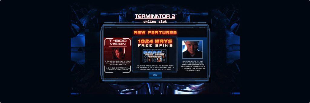 Terminator 2 slot review.