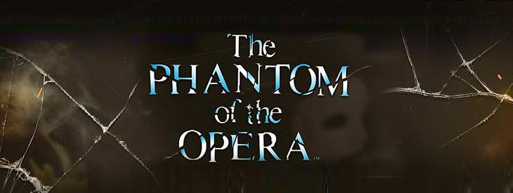 Logo The Phantom of the opera slot machine.