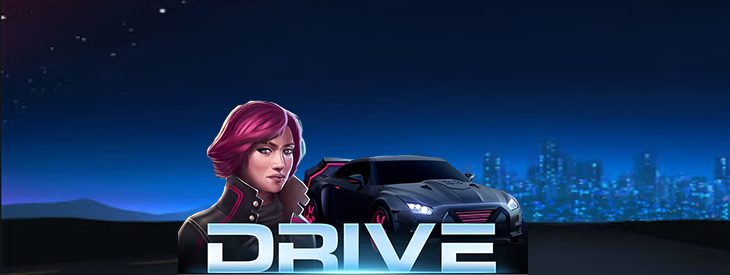 Drive slot game with rtp.