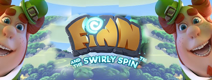 Finn and the Swirly Spin slot review.