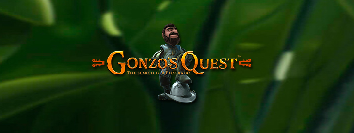 Gonzo's Quest slot game.