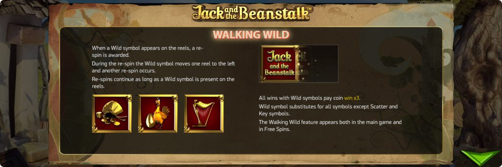 Jack and the Beanstalk Slot demo.