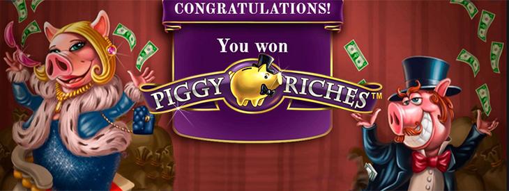 Piggy Riches slot.