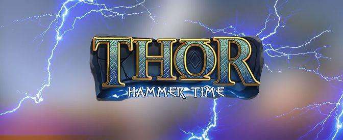 Thor Hammer Time Slot logo.