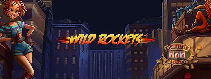 Wild Rockets slot.