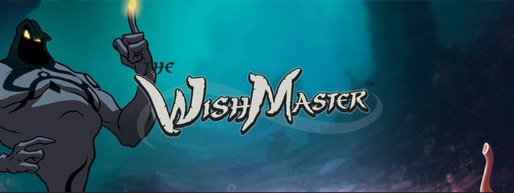 Wish Master slot game.