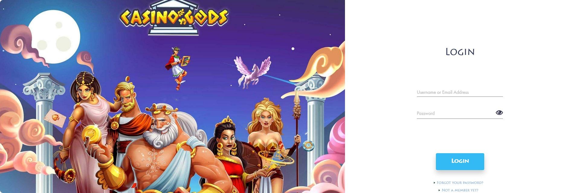Casino Gods Login.