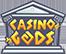 Casino Gods logo.