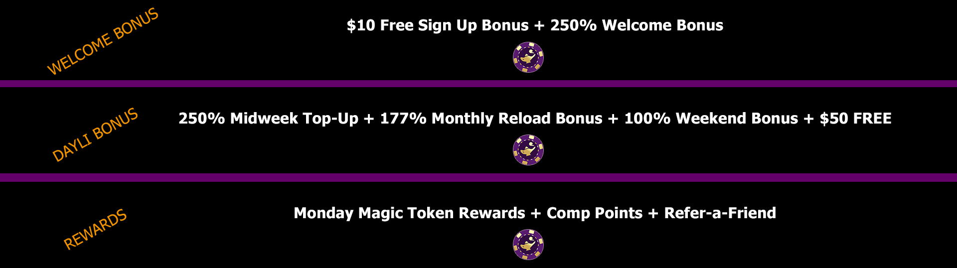 Desert nights casino bonuses.