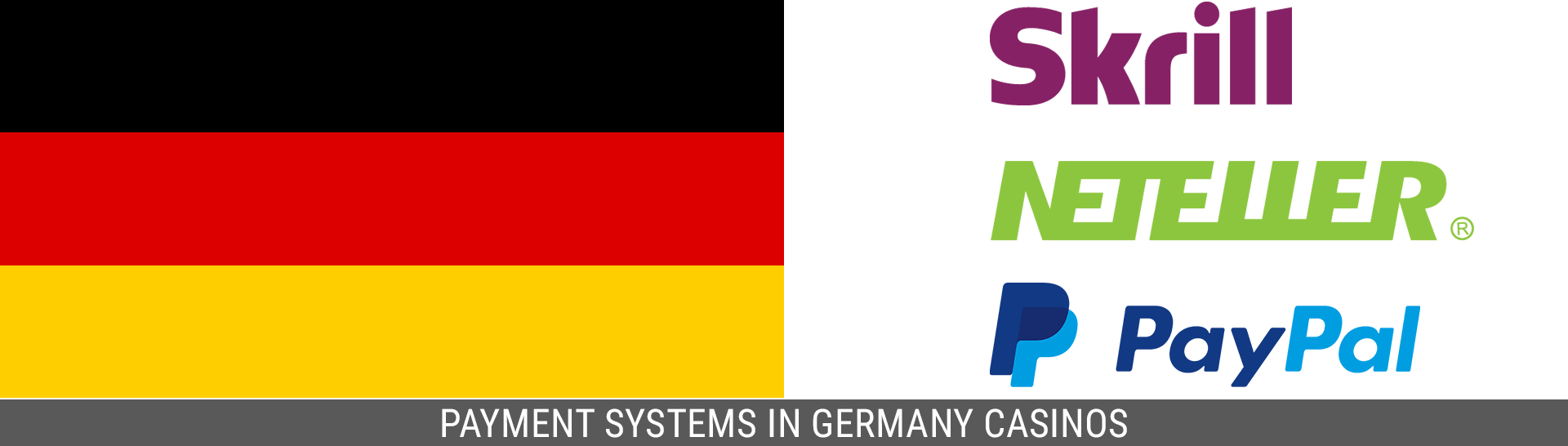 Germany casinos payments systems.