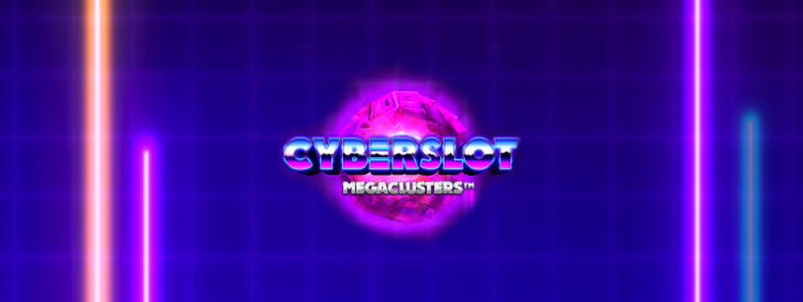 Cyberslot slot machine logo.
