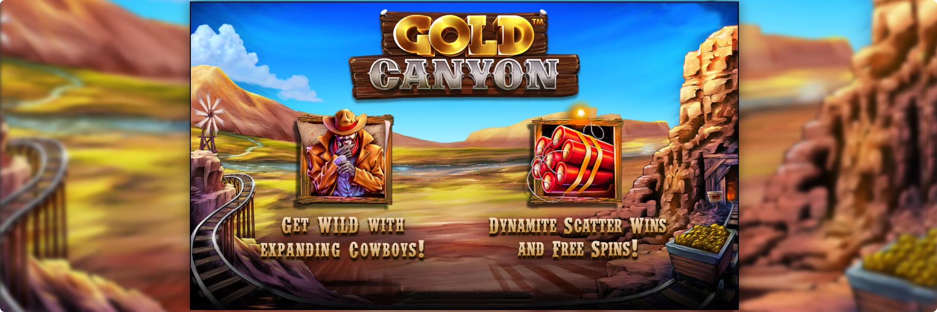 Gold Canyon Slot Machine.