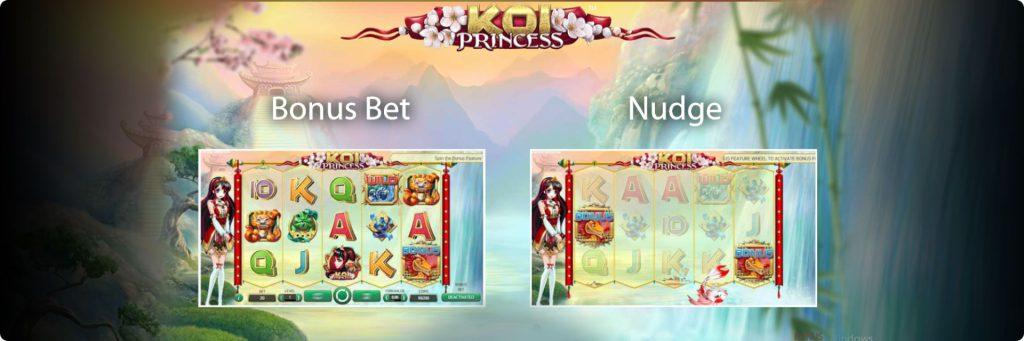 Koi Princess asian slot machines.