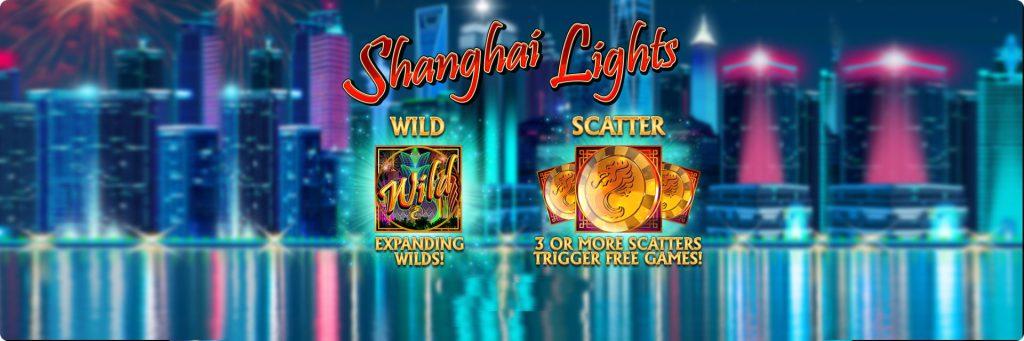 Shanghai Lights slot machines.
