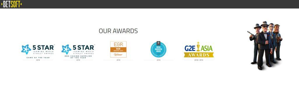 Betsoft awards.