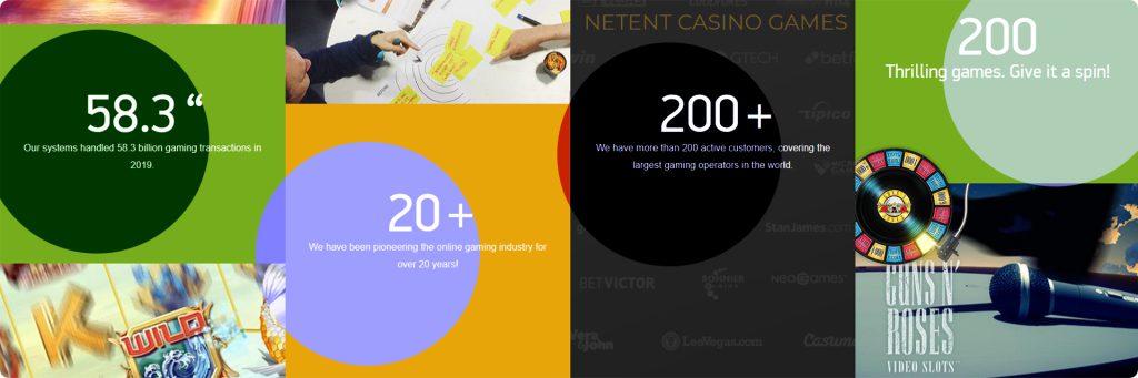 NetEnt casino games.