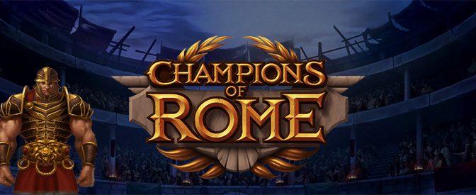 Champions of Rome slot machines.