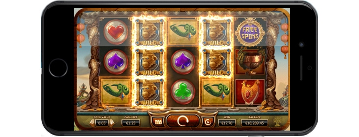 Golden Monkey mobile game.